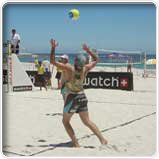 Beach Volleyball in Kapstadt