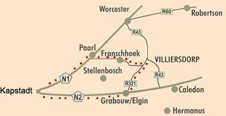 Villiersdorp Tour